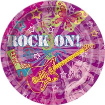 """Rock On 9"""" Plate 8 CT"""