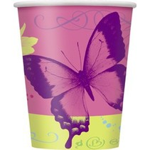 Butterfly Cups 8 CT