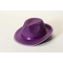 Felt Fedora Purple