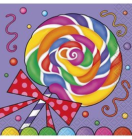 Candy Party Beverage Napkin