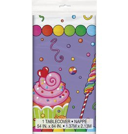 Candy Party Table Cover