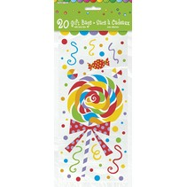 Candy Party Gift Bags 20 CT