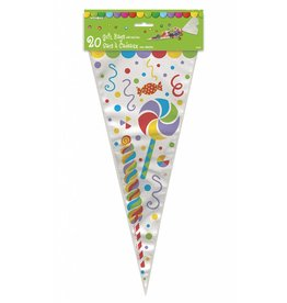 Candy Party Cone Gift Bags