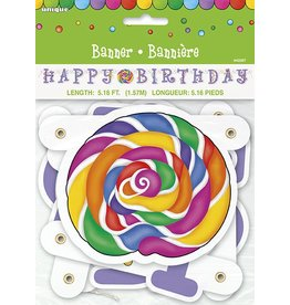 Candy Party Jointed Banner