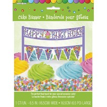 Candy Party  Cake Banner