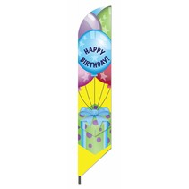 Happy Birthday Pennant Flag