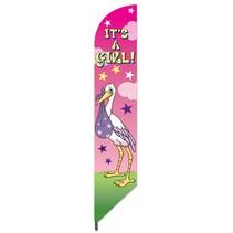 It's  A Girl Pennant Flag