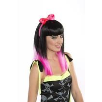 Hair Bow Headband Pink