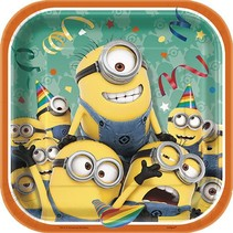 "Despicable Me 7"" Plate 8 CT"