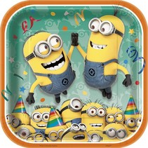 "Despicable Me 9"" Plate 8 CT"