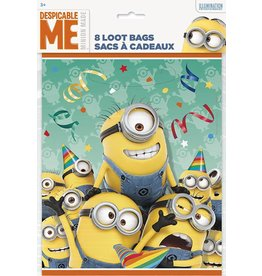Despicable Me Loot Bags 8 CT