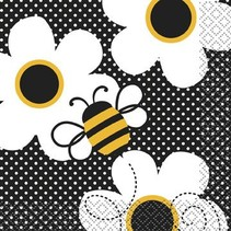 Busy Bee Beverage Napkin 16 CT