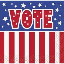 Vote Beverage Napkin 16 CT