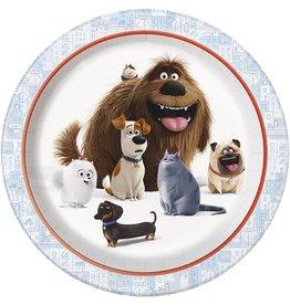 """Secret Lives of Pets 9"""" Plate 8 CT"""