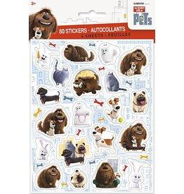 Secret Lives of Pets Stickers