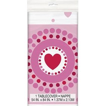 Radiant Heart Table Cover