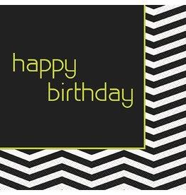 Designer Birthday Luncheon Napkin 16 CT