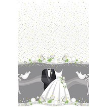 Silver Wedding Table Cover