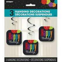 Happy Birthday Hanging Decorations