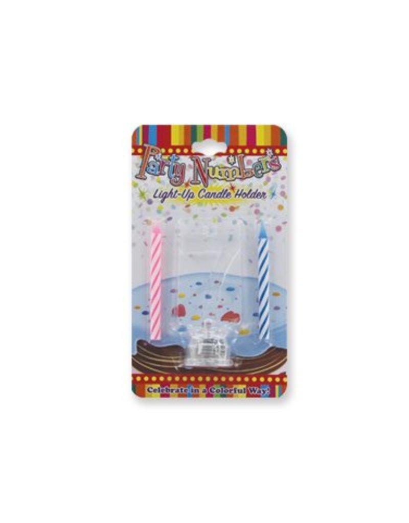 #7 Lite Up Candle Holder