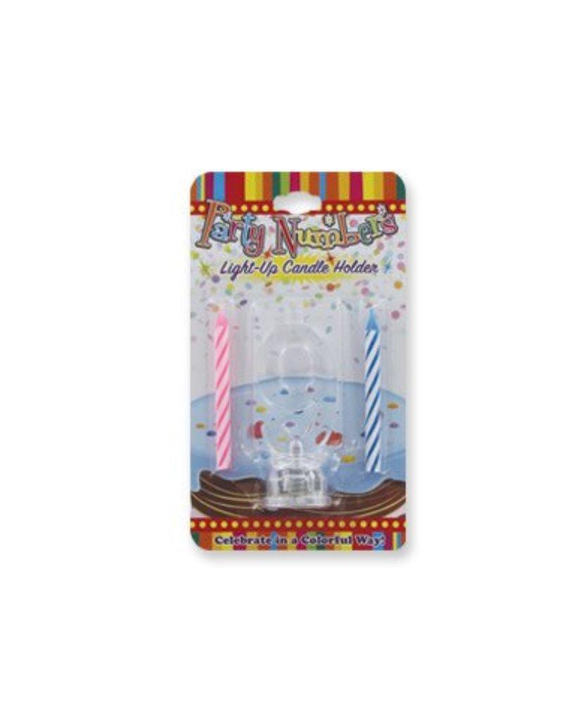 #9 Lite Up Candle Holder