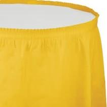 Table Skirt Plastic School Bus Yellow