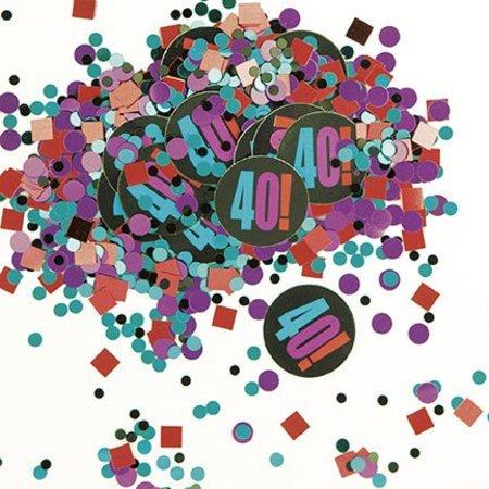 40TH  Birthday Confetti