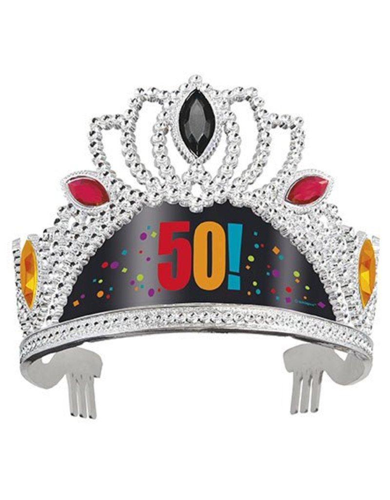 50th Birthday Tiara
