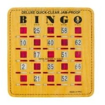 Bingo Slide Card (Deluxe Jam Proof)