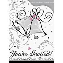 Wedding Style Invitations 8 CT