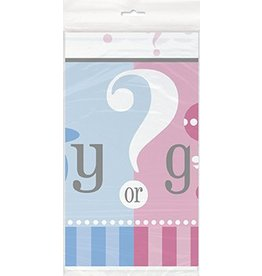 Gender Reveal Table Cover