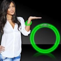 Glow Bracelets Green 50 per tube