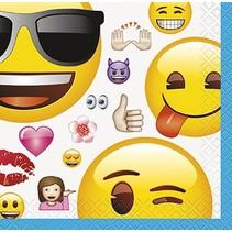 Emoji Beverage Napkin 16 CT