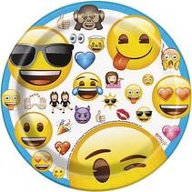 "Emoji 7"" Plate 8 CT"