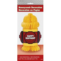 Fire Hydrant Honeycomb Decoration