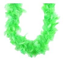 Mini Iridescent Boa Electric Green