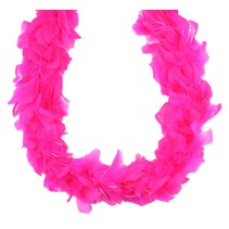 Mini Irridescent Boa Hot Pink