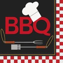 Backyard BBQ Luncheon Napkin 16CT