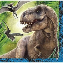 Jurassic World Beverage Napkin 16 CT
