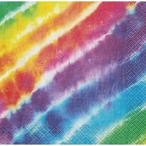 Tye Dye Beverage Napkin 16 CT