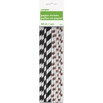 Football Straws 10 CT