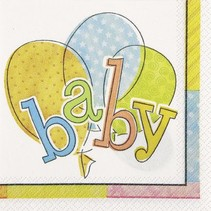 Baby Beverage Napkin 16 Ct