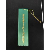 Participant Stock Ribbon