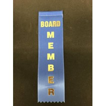 Board Member Stock Ribbon