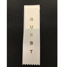 Guest Stock Ribbon