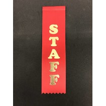 Staff Stock Ribbon