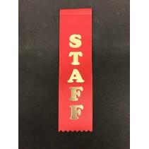 Staff Stock Ribbon