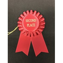 2nd Place Short Rosette Ribbon
