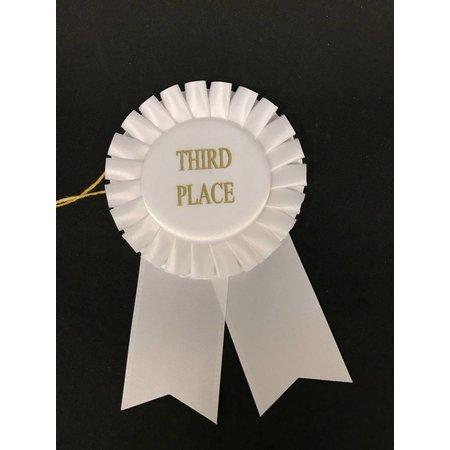 3rd Place Short Rosette Ribbon
