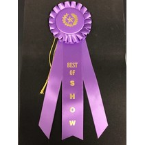 Best of Show Long Rosette Ribbon
